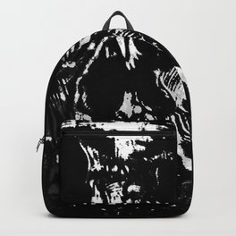 Toxic White Backpack