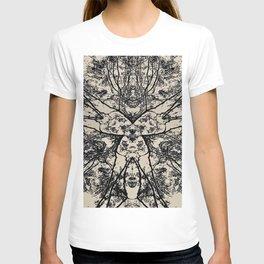Black Flora No 1 T-shirt
