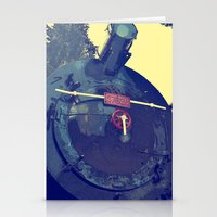 train Stationery Cards featuring train  by gzm_guvenc