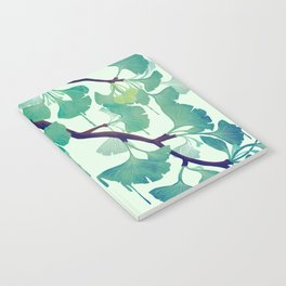 O Ginkgo (in Green) Notebook
