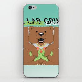 Thug Bear  iPhone Skin