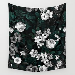 Botanical Night Wall Tapestry