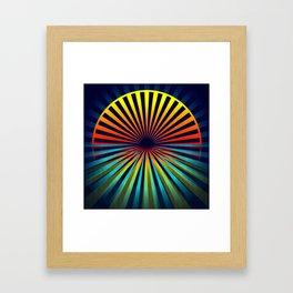 Sunset abstract 194 Framed Art Print