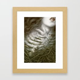 A Nest Of Mice Framed Art Print
