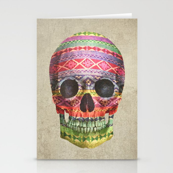 Navajo Skull  Stationery Cards