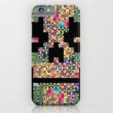 The Black smiles iPhone 6s Slim Case