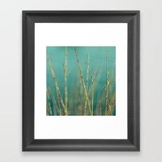 Twig Framed Art Print