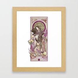Lilac and Gooseberries Framed Art Print