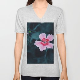 Flower Photography by Jimmy  Chang Unisex V-Neck
