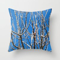 fig Throw Pillows featuring Fig by aeolia