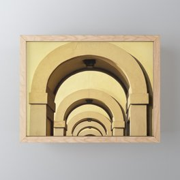 Florence Arches Framed Mini Art Print