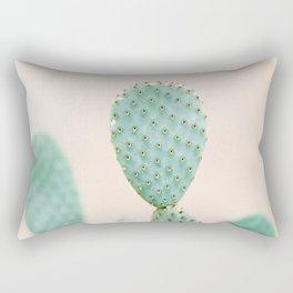 "Cactus photo print ""Botanical cactus"" Morocco | Modern Wall art | Pastel / Botanical Rectangular Pillow"