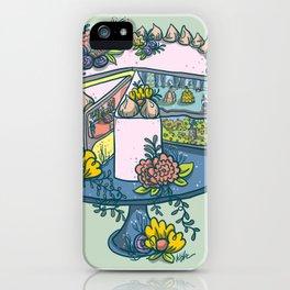 Marie Antoinette's Cake Kingdom iPhone Case