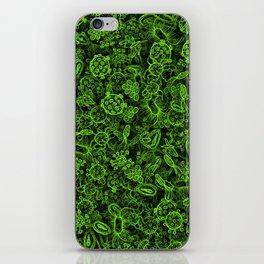 Green micropets iPhone Skin