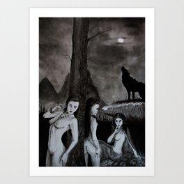 Lamiae Art Print