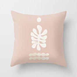 Inversed Botanical Garden #1 Throw Pillow