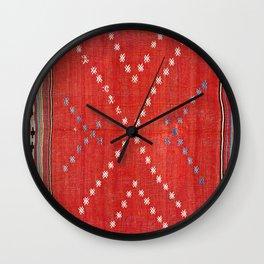 Fethiye Southwest Anatolian Camel Cover Print Wall Clock