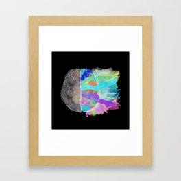 Be Creative inverse Framed Art Print