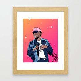 Chance The Rapper Framed Art Print