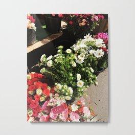 Fleurs de Paris Metal Print