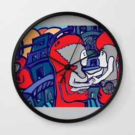 At last Wall Clock