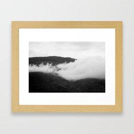 Cortona Clouds Framed Art Print