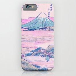 Mount Fuji Ukiyo-e Japanese Vintage Art iPhone Case
