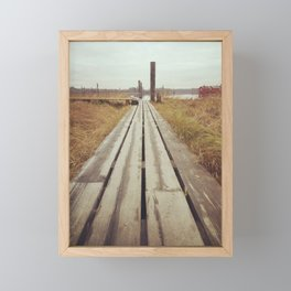 Autumn in Norway Framed Mini Art Print