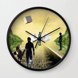Warm Meeting  Wall Clock