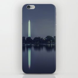 Washington Memorial from the Jefferson Memorial Site iPhone Skin
