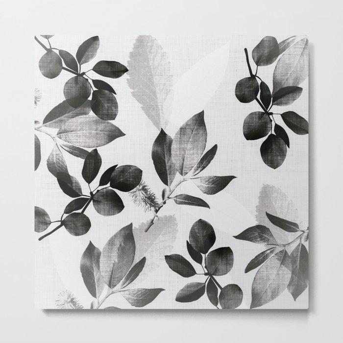 Foliage - nightfall Metal Print