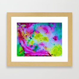 """Lemon-Cherry-Mint Sherbet"" Framed Art Print"