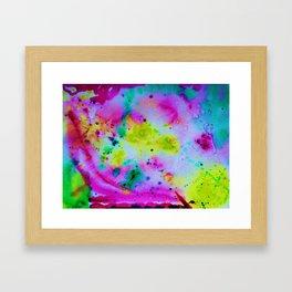 """""""Lemon-Cherry-Mint Sherbet"""" Framed Art Print"""