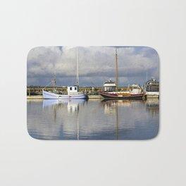 Sailing ships Bath Mat