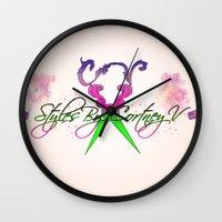 logo Wall Clocks featuring logo by AB Art
