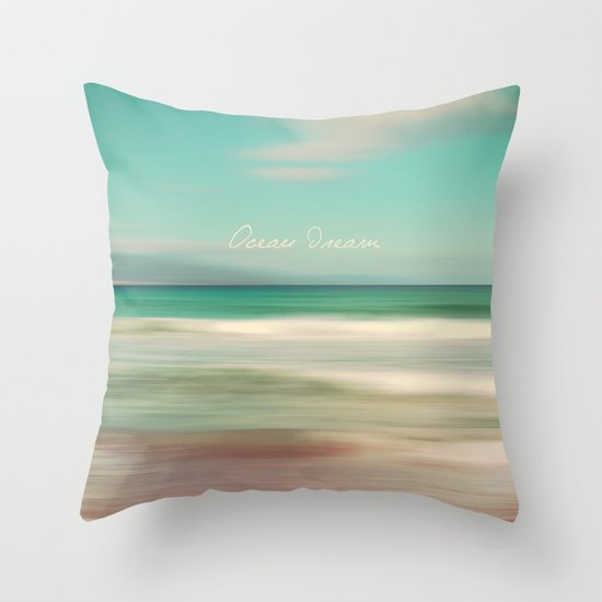 Ocean Dream IV Throw Pillow