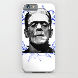 Life And Death   Frankenstein iPhone Case