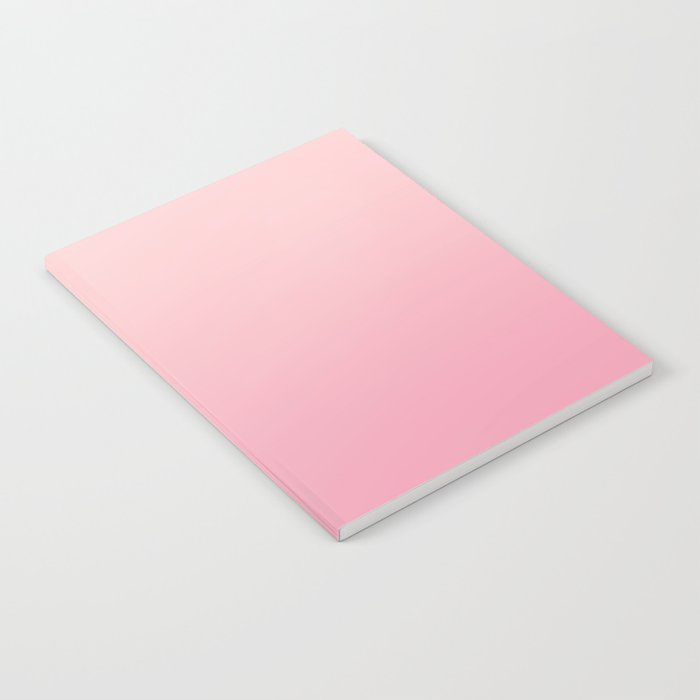 ROSE PETALS - Minimal Plain Soft Mood Color Blend Prints Notebook by burning