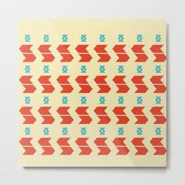 Pattern #11A Metal Print