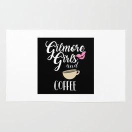 Gilmore Girls and Coffee Rug