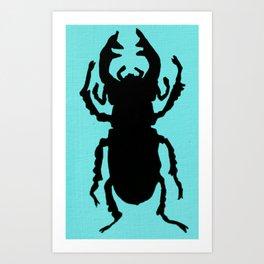Beetle Beautiful Art Print