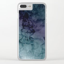 Energize - Mixed media painting Clear iPhone Case