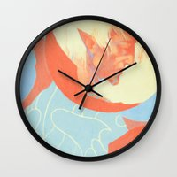 dragon age inquisition Wall Clocks featuring Dragon Age: Fenris by Couple Of Kooks