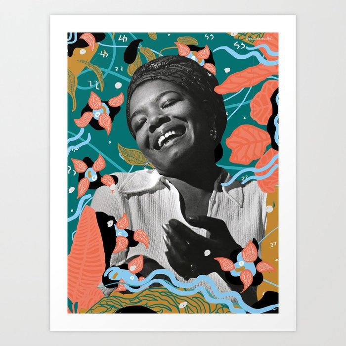 Maya Angelou for #TimesUpNow Kunstdrucke