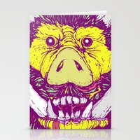 ed sheeran Stationery Cards featuring Boar-ed by headnhalf