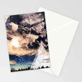 My Imaginations Sunset Stationery Cards