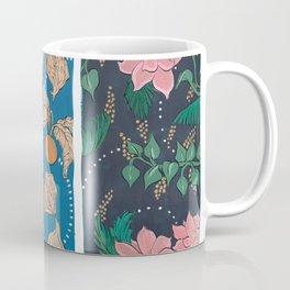 Warm Hues on Cool Background Coffee Mug