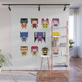 Pixel X-Men Wall Mural