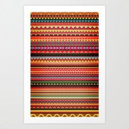 Bulgarian Rhapsody Pattern Art Print