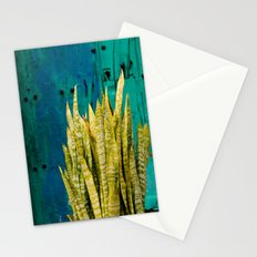 Blue Green Gran Canaria Colors Stationery Cards